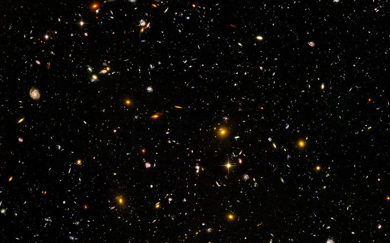 The Hubble Ultra Deep Field,
