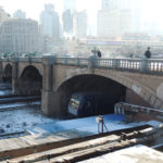Dalian, Liaoning, China:勝利橋(旧日本橋)