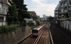 丸ノ内線(文京区春日辺り)