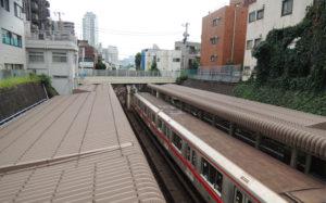 丸ノ内線(茗荷谷駅)