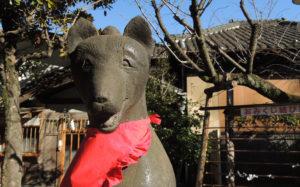 東京都墨田区向島:三囲神社のコンコンさん