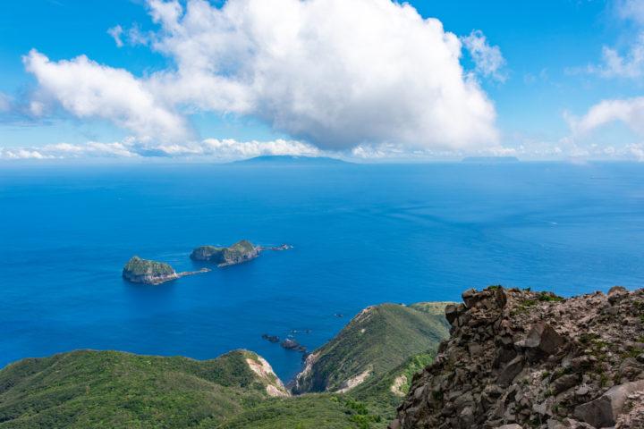 東京都神津島:天上山の裏砂漠展望地