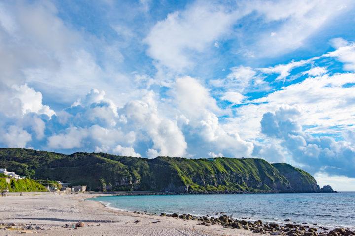 東京都神津島:前浜海岸