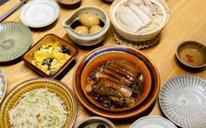 中華料理いろいろ