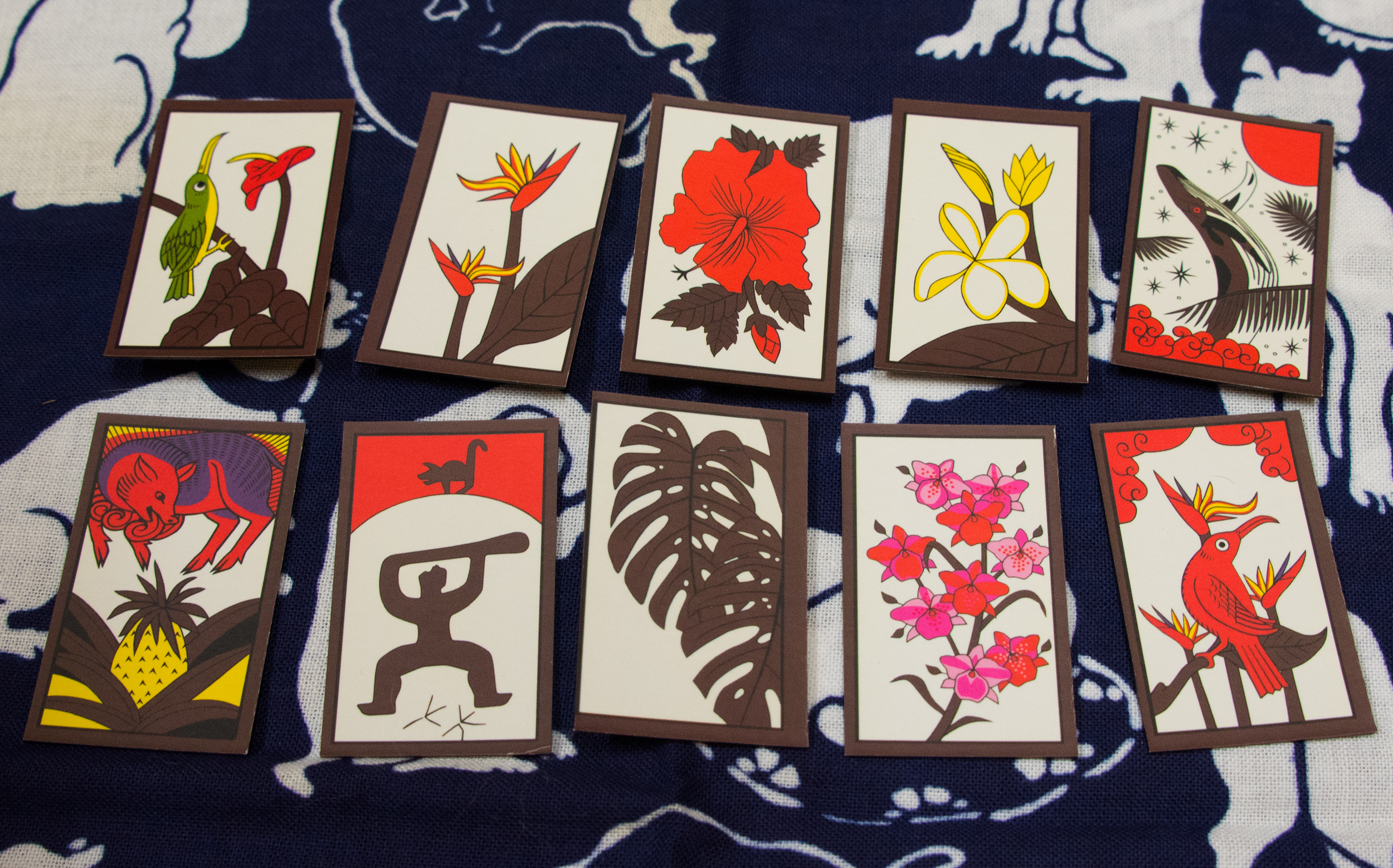 ハワイの花札・Hawaii Flower Card Game HANAPUA