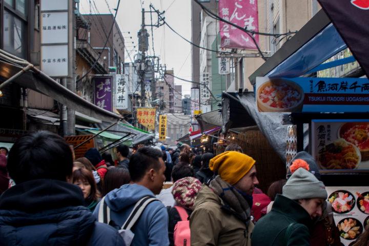 東京都中央区:築地場外市場