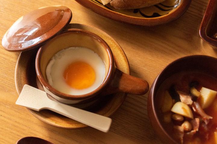 湯町窯のエッグベーカー